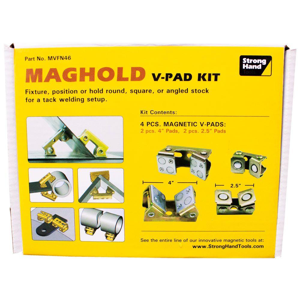 Kit de Suportes Magnéticos V2 para 3/8-16  M10+2 para 5/16 M8 Imãs Superiores 8Kg