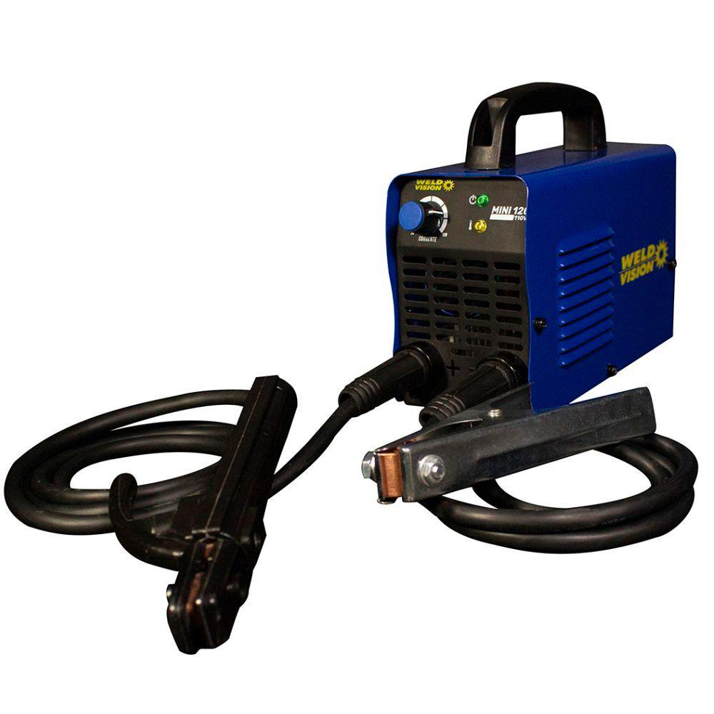 Inversora De Solda Eletrodo Mini 120 110V Weld Vision