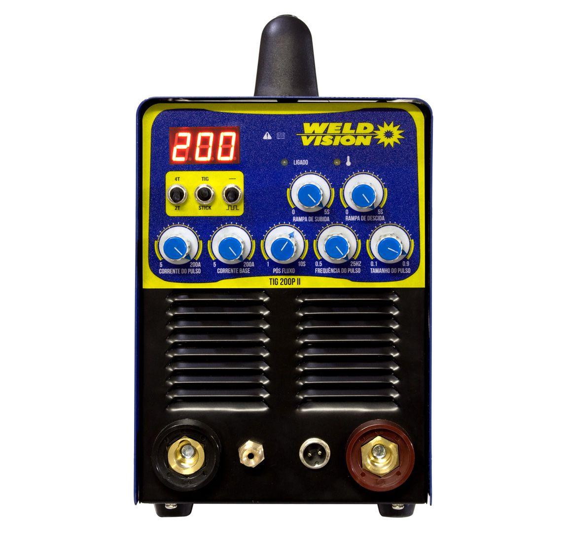 Máquina de solda inversora TIG 200A PII - Weld Vision