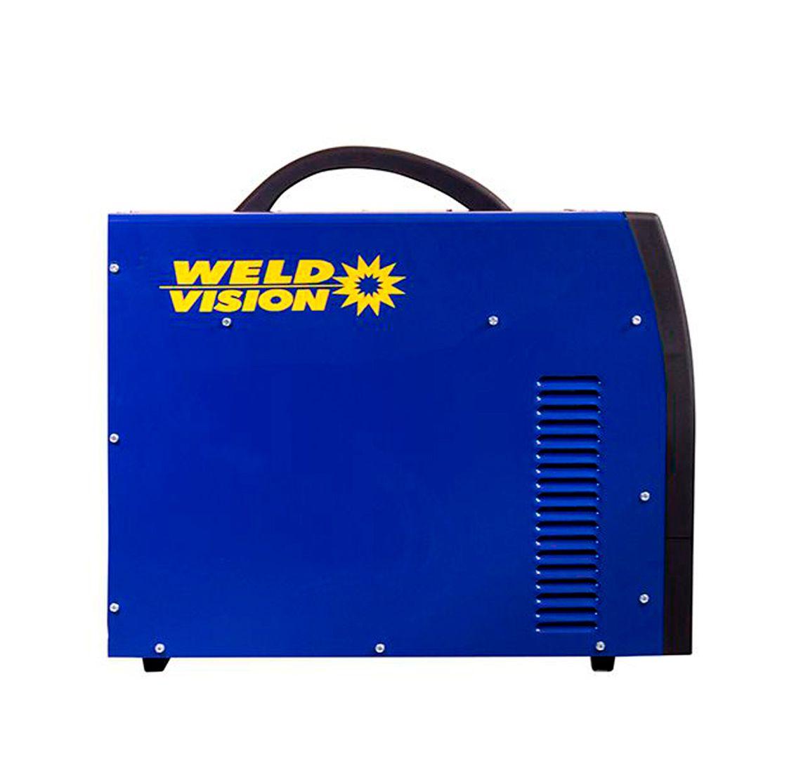 Máquina de solda inversora Eletrodo TIG  Challenger 400 trifásica 220V e 380V  Weld Vision
