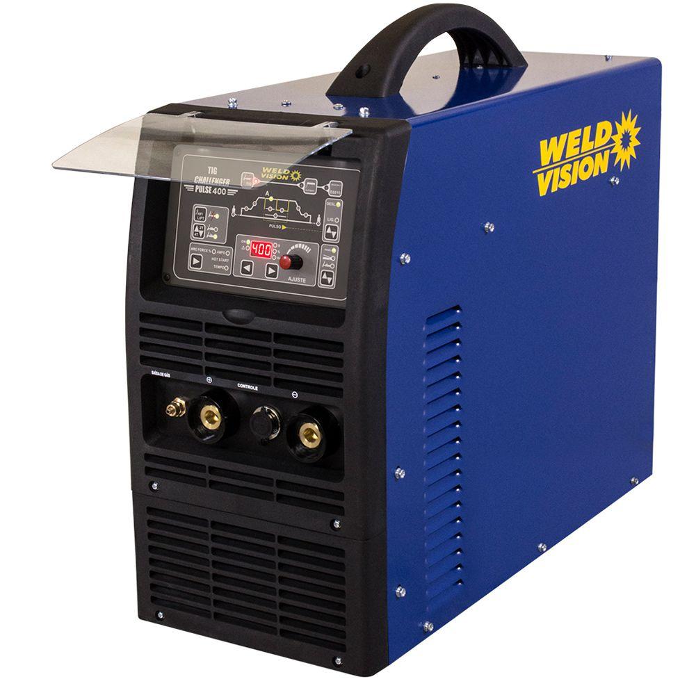 Máquina de solda inversora  TIG Challenger 400 Pulse Weld Vision