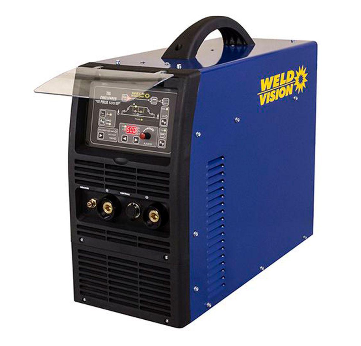 Máquina de solda inversora TIG Challenger 500 Pulse Weld Vision