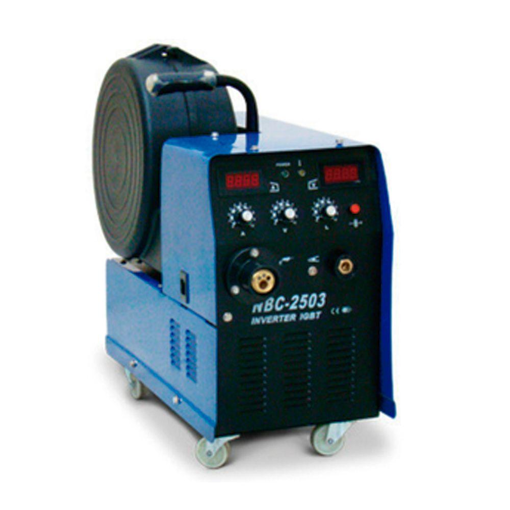 Máquina de solda Mig inversora Nbc 250 Com Tocha E Garra - Weld Vision