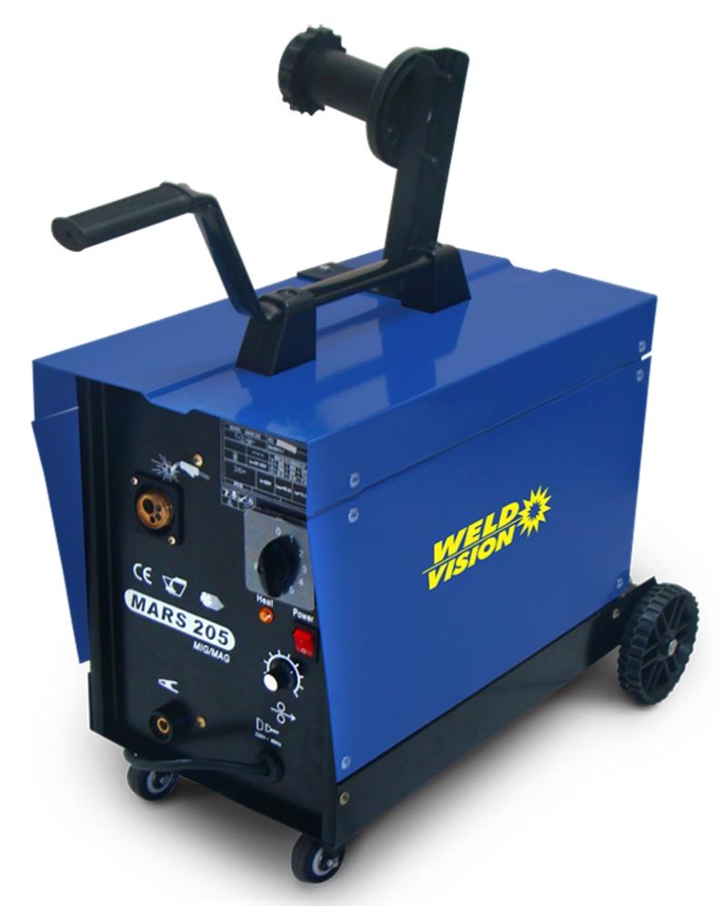 Máquina de solda Mig Mars 205 Weld Vision