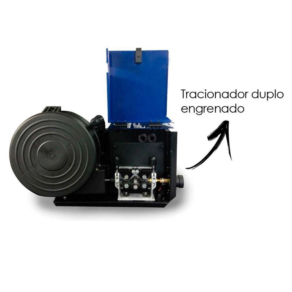 Máquina de solda Mig FNBC 400 com 400A Weld Vision