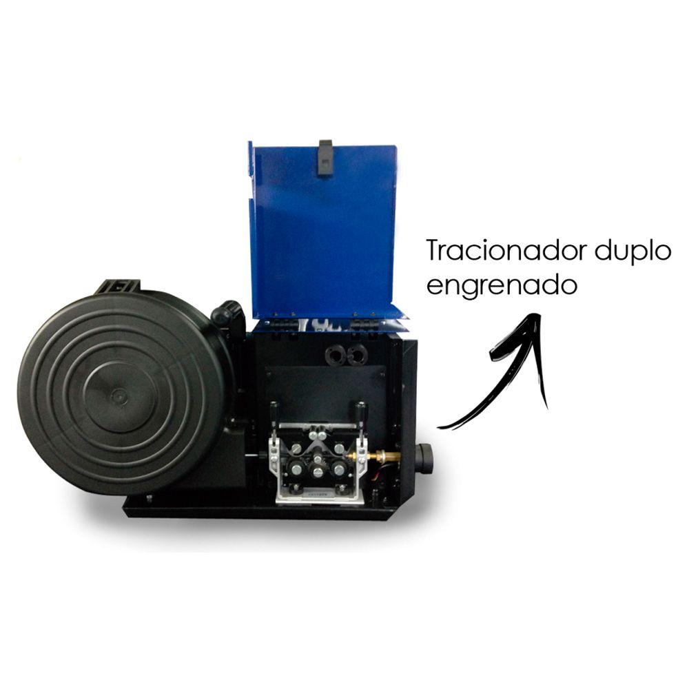 Máquina de solda Mig 500A FNBC 500 Weld Vision