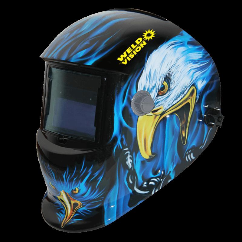 Máscara de Solda Automática Águia