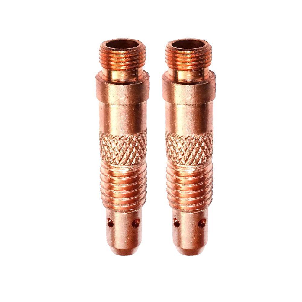 Porta pinça para tocha Tig - 1,6mm/ 2 mm/ 2,4mm