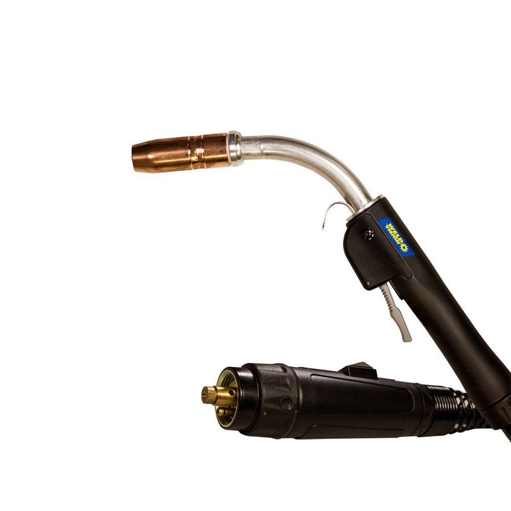 Tocha MIG Semi-Automática TR400 com Euro Connector 3MTS 3,5MTS Weld Vision