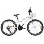 """Bicicleta Caloi - Ceci 24"""" - 21v - Branco - 2021"""