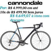 Bicicleta Cannondale - CAAD Optimo Claris - 2019 + Brinde