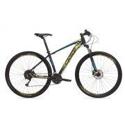 Bicicleta Oggi - Big Wheel 7.0 - 2019 - Preta / Amarela / Azul + Brinde