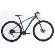 Bicicleta Oggi - Big Wheel 7.0 - 2020 - Preto / Azul / Branco