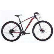 Bicicleta Oggi - Big Wheel 7.0 - 2020 - Preto / Vermelho / Branco