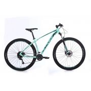 Bicicleta Oggi - Big Wheel 7.0 - 2020 - Verde Blue / Preto