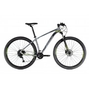 Bicicleta Oggi - Big Wheel 7.0 - 2021 - Grafite / Preta / Verde