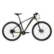 Bicicleta Oggi - Big Wheel 7.1 - 2020 - 18v - Preto / Verde / Grafite