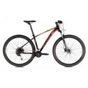 Bicicleta Oggi - Big Wheel 7.1 - 2021 - 18v - Preto / Vermelho / Dourado