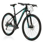 Bicicleta Oggi - Big Wheel 7.2 - 2019 - Preta / Verde Piscina / Cinza