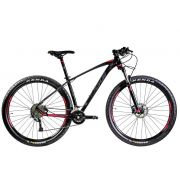 Bicicleta Oggi - Big Wheel 7.2 - 2020 - 18v - Preto / Vermelho / Grafite