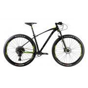 Bicicleta Oggi - Big Wheel 7.3 - 2020 - Preta / Verde / Grafite