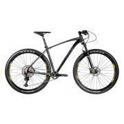 Bicicleta Oggi - Big Wheel 7.4 - 2020 - Preta / Amarela / Grafite