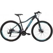 Bicicleta Oggi - Float Sport Feminina - Preta / Azul Tiffany