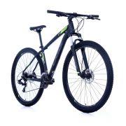 Bicicleta Oggi - Hacker HDS 24v - Preto / Grafite / Verde Neon