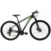 Bicicleta Oggi - Hacker Sport 29 - Preta / Verde