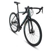 Bicicleta Oggi - Velloce Disc 700c - Preta / Verde