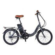 Bicicleta Rio South - Move - Elétrica - Aro 20 - Cinza