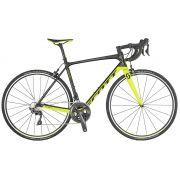 Bicicleta Scott - Addict 10 - Preta / Amarela + Brinde