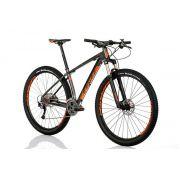Bicicleta Sense - Impact Pro - 2018 - Cinza e Laranja