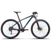 Bicicleta Sense - Impact Pro - 2019 - Cinza / Azul + Brinde