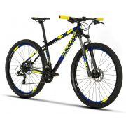 Bicicleta Sense - One 2019 - Preta / Amarela / Azul