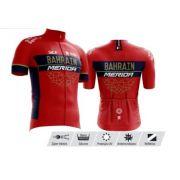 Camisa Refactor Tour de France Bahrain Vermelha