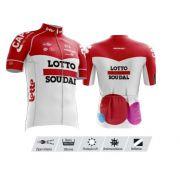 Camisa Refactor Tour de France Lotto Soudal Vermelha