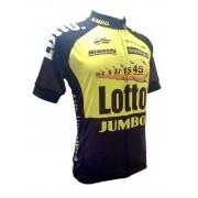 Camisa World Tour - Lotto Jumbo - Tam M