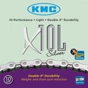 Corrente KMC - X10L - 10v - Prata