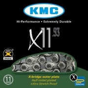 Corrente KMC - X11.93 - 11v Prata