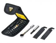 Mini Estojo de Ferramentas  Topeak - Chave de Catraca 16 Funções - TT2524