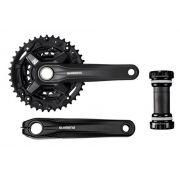 Pedivela Shimano - MT210 - 40x30x22 + Central MT500 - Hollowtech