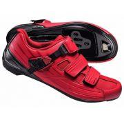 Sapatilha Shimano RP3 - Speed - Vermelha / Preta