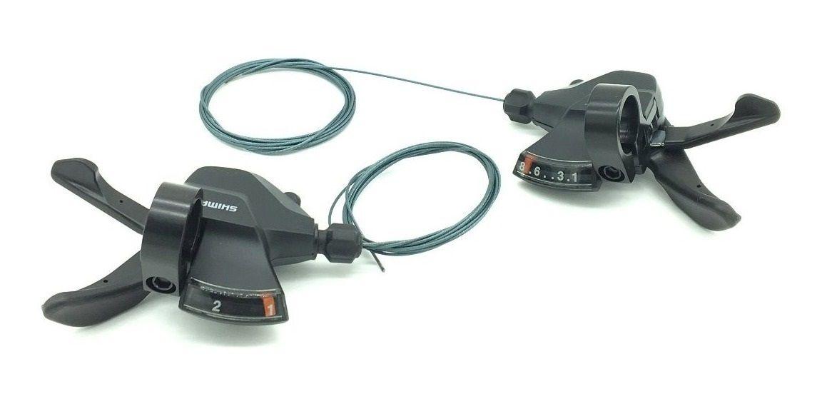 Alavanca RapidFire - Shimano Altus M315 - 3 x 8 v