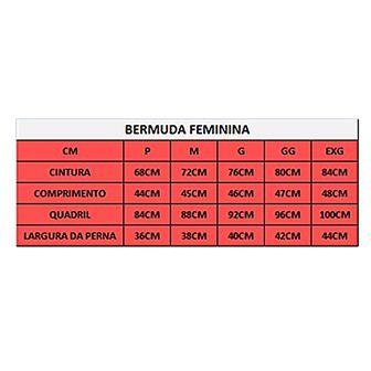 Bermuda Refactor Flex - Feminina - Preta