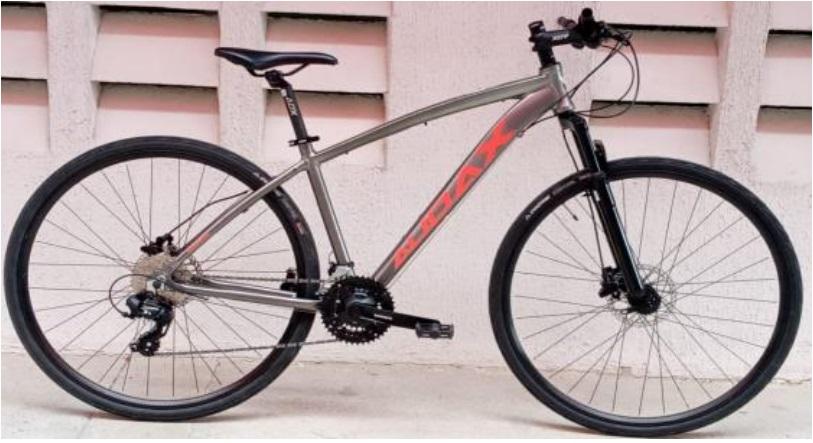 Bicicleta Audax - Havock City LT - Cinza Metálico - Tamanho 17''
