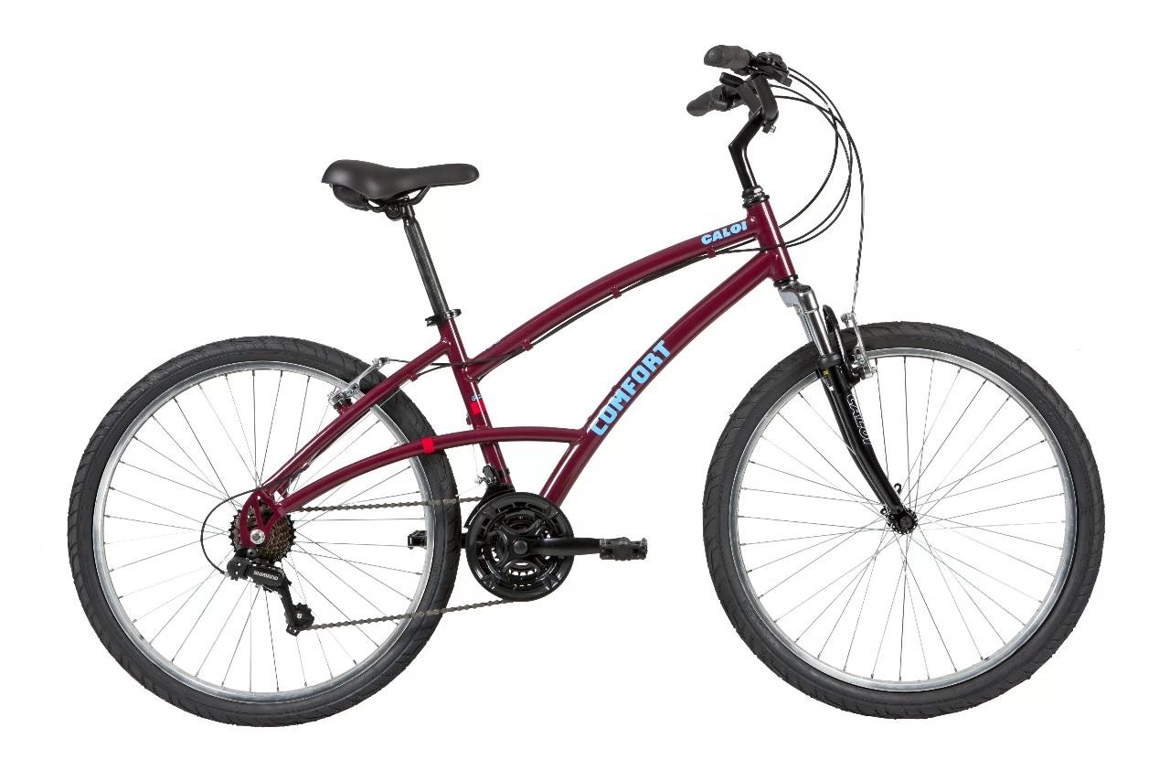 Bicicleta Caloi 400 - Feminina 2021 - Vinho