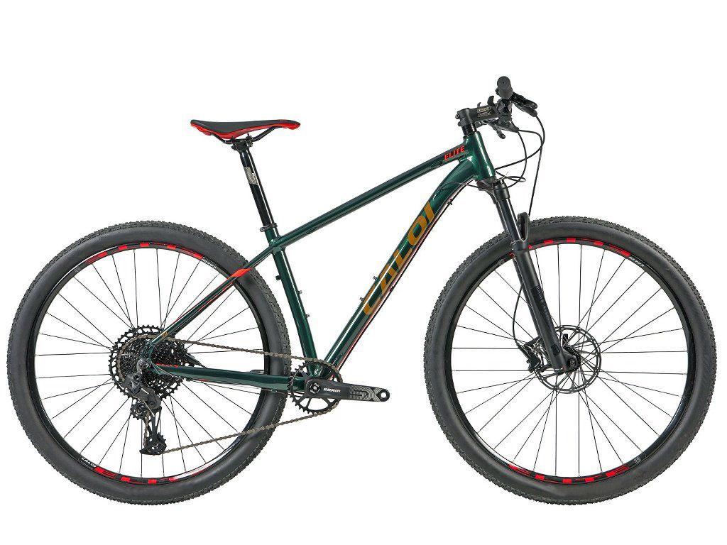 Bicicleta Caloi - Elite 2020 - Sram SX - Verde + Brinde