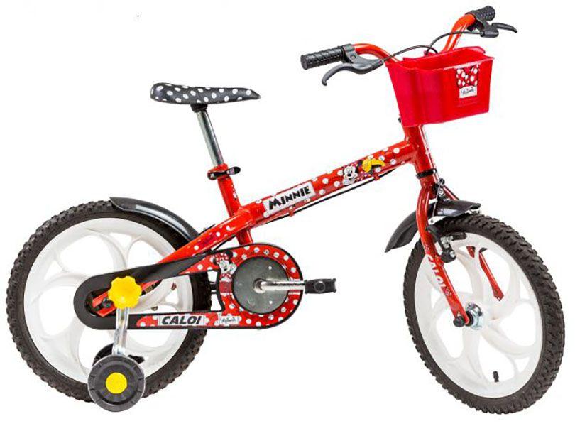 04a630fa4 Bicicleta Caloi Minnie - Aro 16