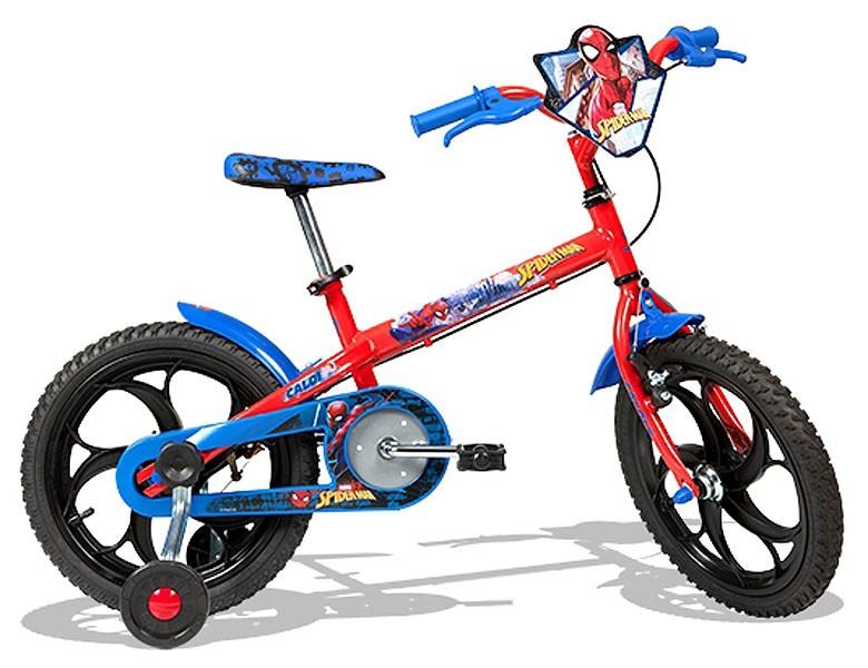 Bicicleta Caloi Spider-Man - Aro 16